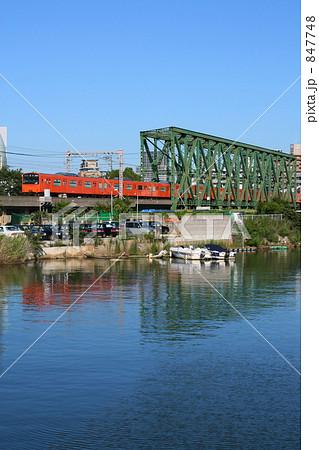 岩崎運河の写真素材 - PIXTA