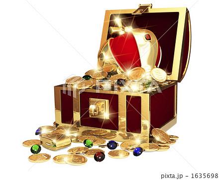 宝の箱のイラスト素材 [1635698]...