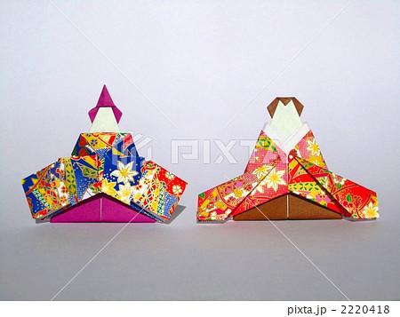 折り紙 雛人形 : pixta.jp
