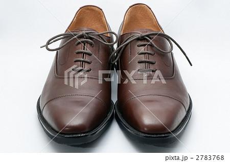 革製 紳士靴 正面の写真素材 , PIXTA