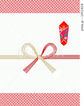 のし 熨斗 Cg 慶事のイラスト素材 Pixta