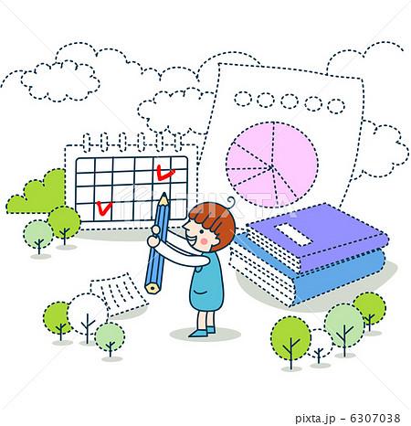 シンプルイラスト1 教育のイラスト素材 6307038 Pixta