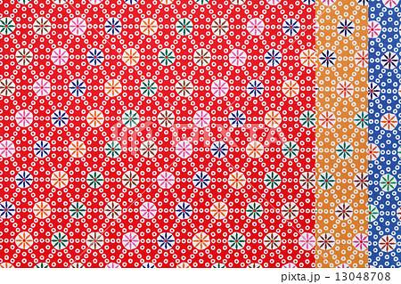 ハート 折り紙 和柄 折り紙 : pixta.jp
