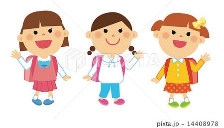 小学生 女子トリオ