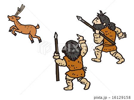 「縄文時代狩 風景」の画像検索結果