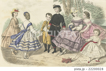 19世紀フランスのファッションプ...