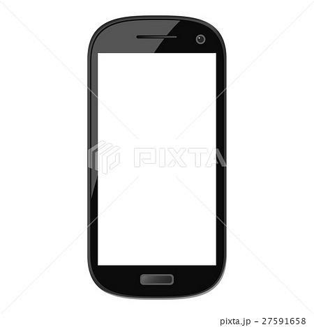 黒色 携帯電話 クリップアート スマートフォン グラフィックのイラスト