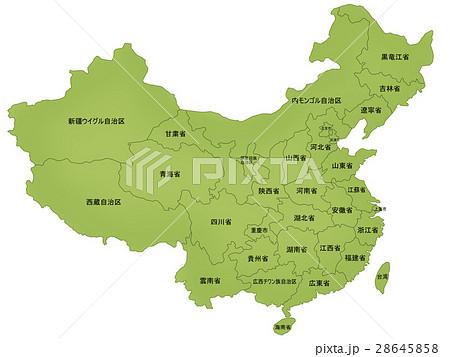 中華人民共和国のイラスト素材 -...