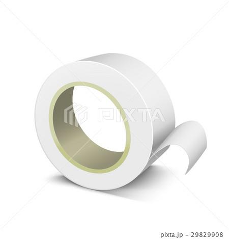 テンプレート テープ ロール 巻くのイラスト素材 pixta