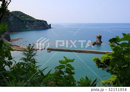 ゴメ島 島 積丹町 海の写真素材 ...