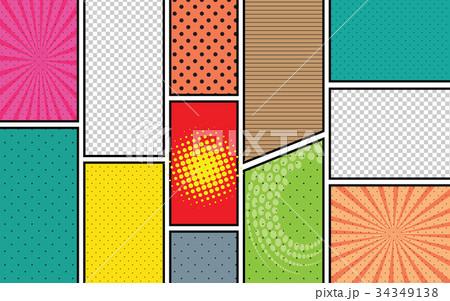 青 書籍 デコラティブ 装飾的のイラスト素材 pixta