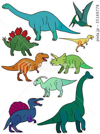 ティラノサウルスのイラスト素材集 Pixtaピクスタ