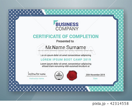 pixta multipurpose professional certificate template yelopaper Image collections