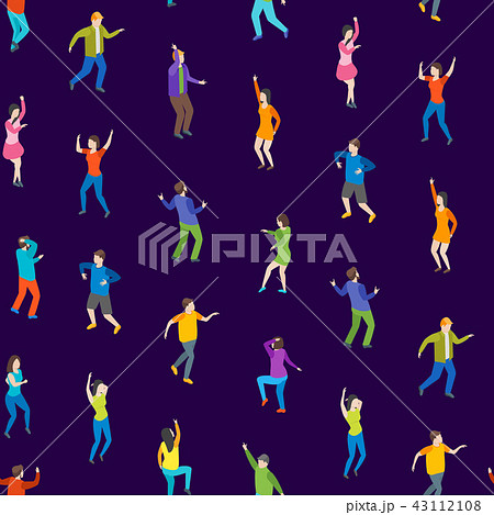 ダンス 壁紙 ディスコ ダンサーのイラスト素材 Pixta
