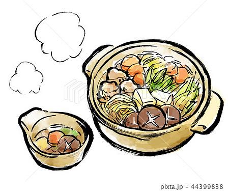 鍋料理のイラスト素材集 Pixtaピクスタ