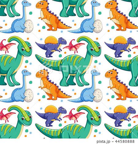 怪獣 イラスト 恐竜 かわいいのイラスト素材 Pixta