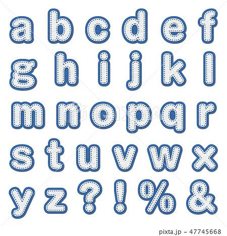 アルファベット 小文字 かわいい イラストのイラスト素材 Pixta