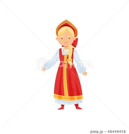 ロシア人 立つ ロシア ロシア風のイラスト素材 Pixta