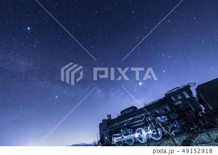 銀河鉄道 星の写真素材 Pixta